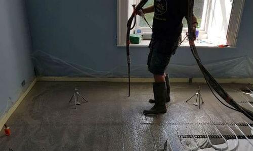 Liquid Screed Flooring