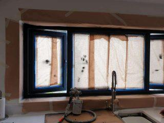 UPVC Window Spray Painting Cardigan Ceredigion